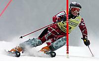 Alpint,<br />  OFTERSCHWANG,DEUTSCHLAND,05.FEB.06 - SKI ALPIN - FIS Weltcup, Slalom der Damen. Bild zeigt Lene Løseth Norge <br /> <br /> Foto:  Thomas Bachun , Digitalsport