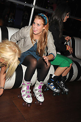 PRINCESS BEATRICE OF YORK at a Roller Disco in aid of TomÕs Ward at the ChildrenÕs Hospital in Oxford and the charity Place2Be, held at The Renaissance Rooms, London SW8 on the 17th September 2008.<br /> PRINCESS BEATRICE OF YORK at a Roller Disco in aid of Tom's Ward at the Children's Hospital in Oxford and the charity Place2Be, held at The Renaissance Rooms, London SW8 on the 17th September 2008.