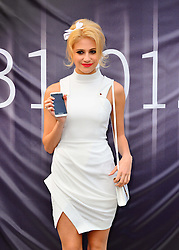 Pixie Lott unveils the new white Blackberry Z10 at Phones 4u, and appears in store to meet with fans.  Phones 4u, Oxford Street, London, United Kingdom, January 31, 2013. Photo by Nils Jorgensen / i-Images.