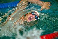 Svømming: Lamberseter Open 18. oktober 2002. Eric Zagon, 100 meter fri.<br /> <br /> Foto: Andreas Fadum, Digitalsport