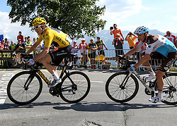 Team Sky's Geraint Thomas during stage twelve of the 2018 Tour de France.