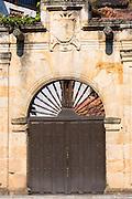 Doorway in Cabazon de Liebana in Cantabria, Northern Spain