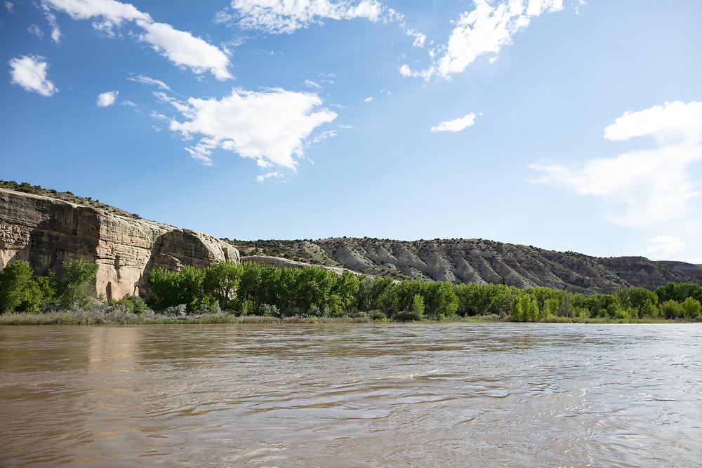 Green River in Dinosaur National Monument in Utah