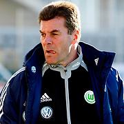 Vfl Wolfsburg's coach Dieter Hecking during their Tuttur.com Cup Final soccer match Werder Bremen between Werder Bremen v Vfl Wolfsburg at Mardan stadium in Antalya Turkey on 09 Wednesday January, 2013. Photo by Aykut AKICI/TURKPIX