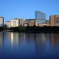 Boston photography art images are available as museum quality photography prints, canvas prints, acrylic prints or metal prints. Prints may be framed and matted to the individual liking and decorating needs:<br /> <br /> http://juergen-roth.artistwebsites.com/featured/mass-eye-and-ear-infirmary-with-boston-west-end-juergen-roth.html<br /> <br /> Boston cityscape photography art from New England based fine art photographer Juergen Roth showing the Massachusetts Eye and Ear Infirmary, a Harvard Medical School affiliate, captured on an evening in June 2014. The hospital is part of Massachusetts General Hospital and is located in the Boston West End, surrounded by various MGH buildings.<br /> <br /> Good light and happy photo making! <br /> <br /> My best, <br /> <br /> Juergen <br /> www.RothGalleries.com <br /> www.ExploringTheLight.com <br /> http://whereintheworldisjuergen.blogspot.com <br /> @NatureFineArt <br /> https://www.facebook.com/naturefineart