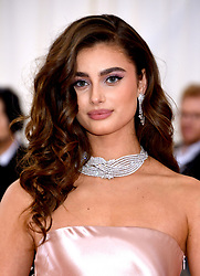 Taylor Hill attending the Metropolitan Museum of Art Costume Institute Benefit Gala 2019 in New York, USA.