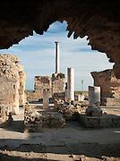 Ruins at Carthage, near Tunis, Tunisia
