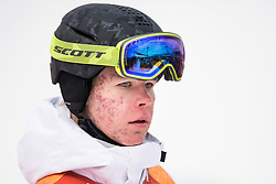 February 9, 2018 - Pyeongchang, South Korea - 180209 Walter Wallberg of Sweden in the finishing area after competing in the MenÃ•s Moguls Qualification during the 2018 Winter Olympics on February 9, 2018 in Pyeongchang..Photo: Petter Arvidson / BILDBYRN / kod PA / 91956 (Credit Image: © Petter Arvidson/Bildbyran via ZUMA Press)