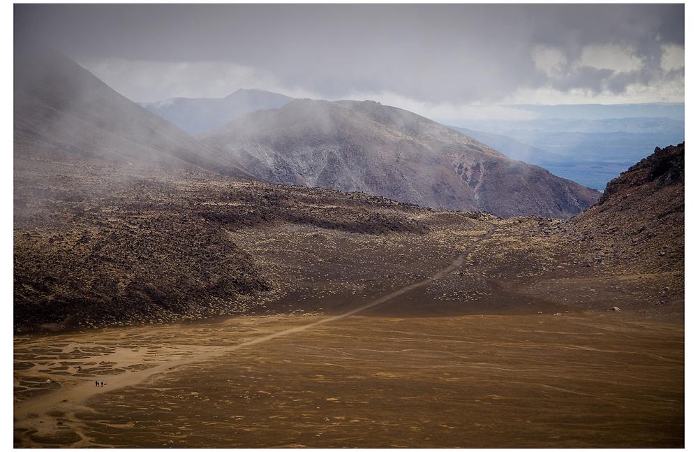 Tongariro Crossing, Tongariro National Park.