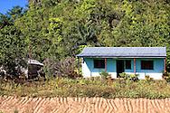 Country house near Vinales, Pinar del Rio, Cuba.
