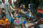 New Market, or Hogg Market, is a hive of activity, especially at dawn. Rickshaw wallahs and traders, fish sellers and butchers mingle to get their business done early.