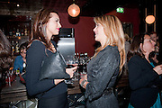 ANIKA MARIC; INGE THERON, Party after the opening of  A Memory, A Monologue, A Rant, and A Prayer  at Century Club.  Restless Buddha's fundraising event helping women around the world. All proceeds raised from the sale of tickets go to Women for Women International, V-Day and Domestic Violence Intervention Project. 26 March 2012