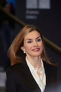 020415 Queen Letizia attends the Forum Against Cancer 'For a comprehensive approach' 2015