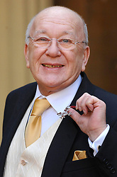 File photo dated 15/03/06 of former Coronation Street actor Roy Barraclough with his MBE. Barraclough has died today aged 81 after a short illness, his agent said.