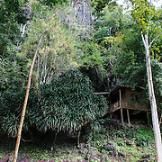The Pathet Lao Caves of Vieng Xai in Houaphanh Province in northeastern Laos. It was in these natural caves deep in karsts that the Pathet Lao leadership avoided constant American bombing raids during the Vietnam War.