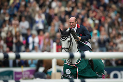 Whitaker Michael, (GBR), Cassionato<br /> Winners of the Furusiyya FEI Nations Cup presented by Longines<br /> Longines Jumping International de La Baule 2015<br /> © Hippo Foto - Dirk Caremans<br /> 15/05/15