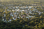 Aerial view of homes in the I'on development in Mount Pleasant, SC.