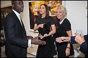 OSWALD BOATENG; SASHA VOLKOVA; AMANDA ELLIASCH, Dancing Away – Photographic works by Mikhail Baryshnikov. Exhibition hosted by ContiniArtUK and  jewellery designers Damiani. New Bond St. London. 27 November 2014