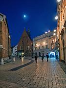 Plac Mariacki w Krakowie, Polska<br /> St. Mary's Square in Cracow, Poland
