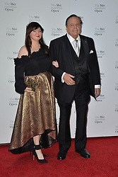 September 24, 2018 - New York, NY, USA - September 24, 2018  New York City..Denessa Benkie and Paul Sorvino attending Metropolitan Opera Opening Night at Lincoln Center on September 24, 2018 in New York City. (Credit Image: © Kristin Callahan/Ace Pictures via ZUMA Press)