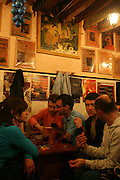 """""""Tasca do Chico"""" is one of the typical spots were to see live perfomances of Fado music and were the audience can spontaneously participate and also ask to sing. It is located in  Bairro Alto neighborhood"""
