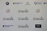 at the announcement of title sponsor for the Irish Open to be held at Royal Co Down Golf Club, Newcastle, Co Down, Northern Ireland.<br /> Picture: Fran Caffrey / Golffile