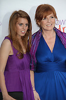Sarah Ferguson Duchess of York and HRH Princess Beatrice London, UK, 20 May 2010: The Caudwell Children Butterfly Ball held at the Battersea Evolution. For piQtured Sales Contact:  Ian@piqtured.com +44(0)791 626 2580 (Picture by Richard Goldschmidt/Piqtured)