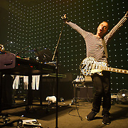 Washington, D.C. - British dance pioneers Underworld open their 2010 US tour at the 9:30 Club in Washington, D.C. The group is currently touring behind theirlatest release, barking. (Photo by Kyle Gustafson)