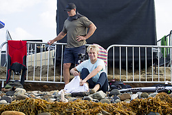 September 12, 2017 - Ethan Ewing of Australia watching the remaining heats of Round Two of the Hurley Pro at Trestles, Ca, USA...Hurley Pro at Trestles 2017, California, USA - 12 Sep 2017 (Credit Image: © Rex Shutterstock via ZUMA Press)
