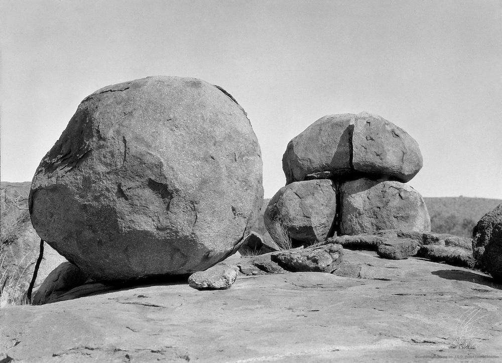 Devil's Marbles, Mt. Stuart, Central Australia, 1930
