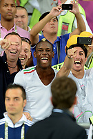 "Enoch BALOTELLI fratello di Mario (Italia)<br /> Kiev 24/06/2012  ""Stadio Olimpico""<br /> Football calcio Europeo 2012 Inghilterra Vs Italia<br /> Football Calcio Euro 2012<br /> Foto Insidefoto Alessandro Sabattini"