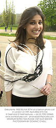 Debutante  MISS SELINA SETHI at a fashion photo call in London on 15th April 2002.OYX 136