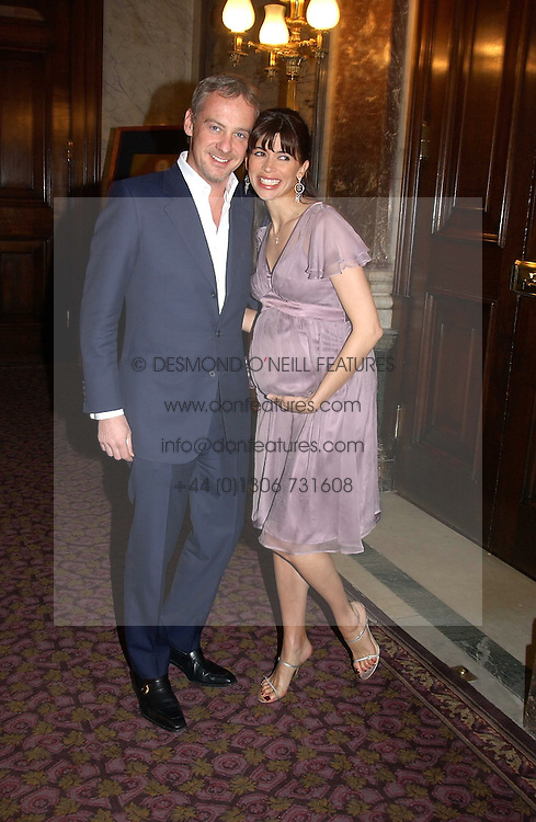 ANTON & LISA BILTON at a fashion show and dinner hosted by Shangri-la Hotels and Resorts and Andy Wong featuring fashion by new designer Lu Kun held at The Goldsmiths Hall, Foster Lane, London on 25th April 2005.<br /><br />NON EXCLUSIVE - WORLD RIGHTS