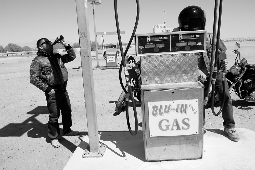 Blu-In, Mexico. 2008<br /> <br /> Limited Edition Print from an edition of 30. Photo ©2008 Michael Lichter.