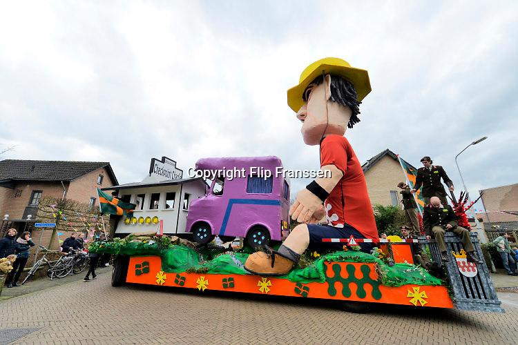 Nederland, Malden, 6-2-2015 Carnavalsoptocht door het rijk van de Dwarsliggers FOTO: FLIP FRANSSEN/ HOLLANDSE HOOGTE