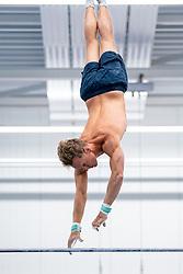Gymnast Epke Zonderland during the Gazelle photoshoot on June 30, 2021 in Heerenveen
