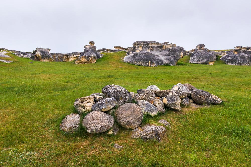 Elephant Rocks, Canterbury, South Island, New Zealand
