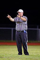 30 August 2019: Peoria Richwood Knights at Normal Normal Community Ironmen football, Normal Illinois Referee Scott Kerr