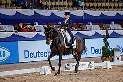 DE RIDDER Jill (GER), Whitney<br /> München - Munich Indoors 2019<br /> Preis der Liselott und Klaus Rheinberger Stiftung<br /> Grand Prix de Dressage (CDI4*) <br /> Wertungsprüfung MEGGLE Champion of Honour,<br /> Qualifikation für Grand Prix Special<br /> 22. November 2019<br /> © www.sportfotos-lafrentz.de/Stefan Lafrentz