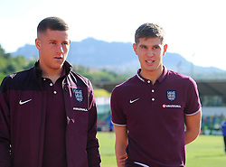 Ross Barkley and John Stones of England (Everton)  - Mandatory byline: Joe Meredith/JMP - 07966386802 - 05/09/2015 - FOOTBALL- INTERNATIONAL - San Marino Stadium - Serravalle - San Marino v England - UEFA EURO Qualifers Group Stage