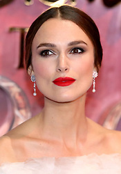 Keira Knightley attending the European Premiere of The Nutcracker and the Four Realms held at the Vue, Westfield London.