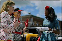 Miss Classic Steel 2019 Pinup Contest at Philadelphia Salvage, in Philadelphia, Pennsylvania, on August 24, 2019.