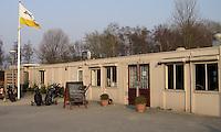 NAARDEN - Oude Clubhuis Golfbaan Naarderbos.
