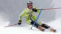 Alpint,<br />  OFTERSCHWANG,DEUTSCHLAND,05.FEB.06 - SKI ALPIN - FIS Weltcup, Slalom der Damen. Bild zeigt Nina Løseth Norge <br /> <br /> Foto:  Thomas Bachun , Digitalsport