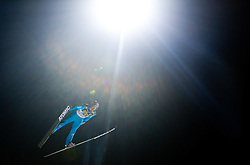 Martin Schmitt (GER) competes during First round of the FIS Ski Jumping World Cup event of the 58th Four Hills ski jumping tournament, on January 6, 2010 in Bischofshofen, Austria. (Photo by Vid Ponikvar / Sportida)