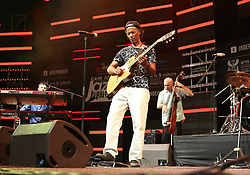 Apr 1, 2016 - Cape Town, Western Cape , South Africa -  JEAN-PIERRE JOZEFINN, of JAV perform at the 16th Annual Cape Town Jazz Festival, that took place at the Cape Town International Convention Centre. (Credit Image: © Bertram Malgas via ZUMA Wire)
