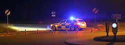 Canfield,Hampshire  A man has been pronounced dead after he was hit by a Car on the Northbound section of the A3M just after the Clanfield on Slip onto. The incident happened on Sunday evening.<br /> Hampshire Police said the pedestrian was struck by a VW Polo Car just after 11.30pm on Sunday. <br /> <br /> <br /> The Northbound carriage of the A3M between Junction 2 and Junction 1 was closed for five hours  whilst  Collision  and Accident investigation work took place.  The driver of the VW Polo was treated at the scene for shock and was taken to hospital by ambulance. <br /> <br /> The 35-year-old  man who had been walking on the unlit carriage way suffered serious head injuries and was pronounced dead at the scene by paramedics.<br /> <br /> <br /> The Northbound A3 was closed between Horndean and Clanfield while investigations were carried out.<br /> Officers are appealing for anyone who may have witnessed the crash or the events leading up to it to contact  Acting Police Sergeant Melanie Adcock of Hampshire  Road Police Collision Investigation Unit on 101 quoting reference Operation Windy. ©UKNIP