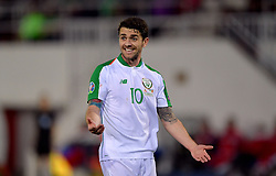 Republic of Ireland's Robbie Brady during the UEFA Euro 2020 Qualifying, Group D match at the Victoria Stadium, Gibraltar.