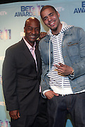 17 May 2011- New York, NY - l to r: Stephen Hill and Jey Cole at the 106 & Park's BET Awards Announcement held at BET Studios on May 17, 2011 in New York City. Photo Credit: Terrence Jennings