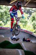 #290 (VAN DOREN Stef) NED at Round 5 of the 2019 UCI BMX Supercross World Cup in Saint-Quentin-En-Yvelines, France